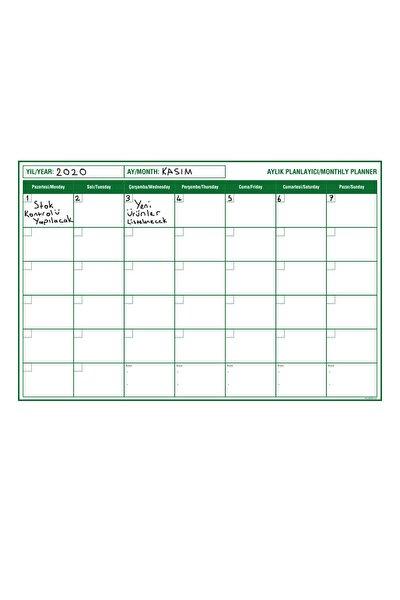 Planlayıcı Akıllı Kağıt Planner Sticker 2021 Kağıt Yazı Tahtası Takvim Aylık Monthly Set