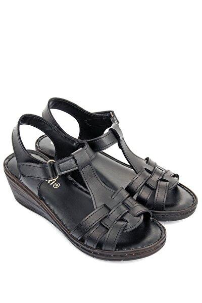 Siyah Kadın Sandalet 45222