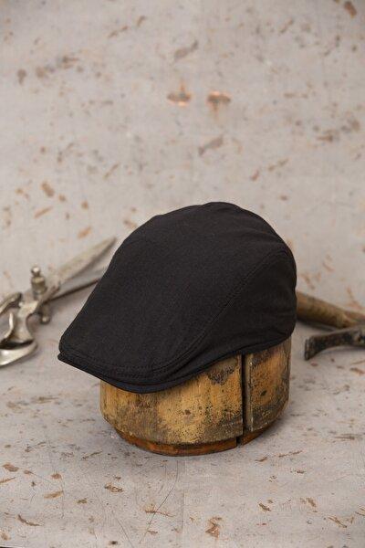 Yazlık Ördek Keten Kasket Şapka