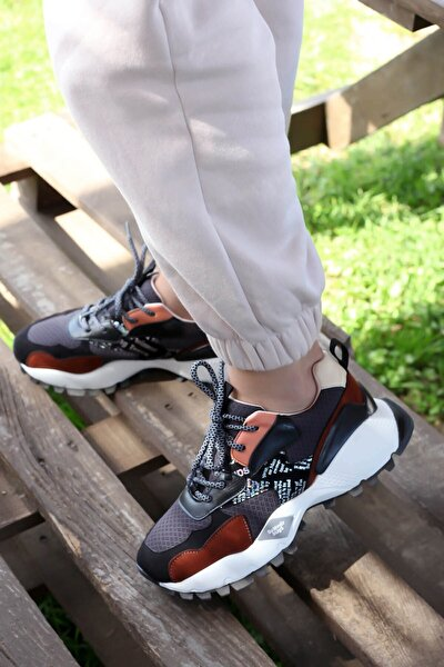 Kadın Siyah Spor Ayakkabı  52134-2