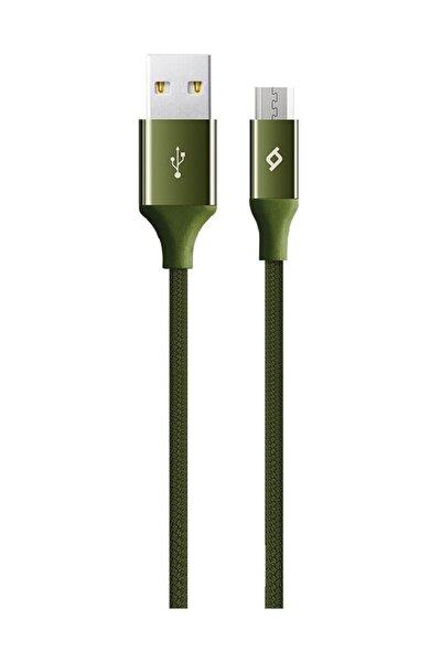 Alumicable Micro Usb Kablo Yeşil 1.20 Cm - 2dk11hy