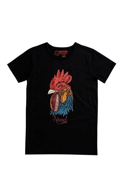 Erkek Siyah Rooster Tee Nıght (20.01.07.006-c01)