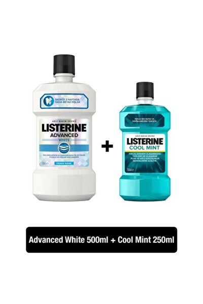 Advanced White 500 ml + Cool Mint 250 ml