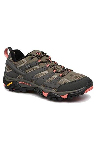 J41106 Moab 2 Gtx Beluga/olıve Kadın Outdoor Ayakkabı
