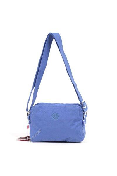 Küçük Boy Postacı Kadın Çantası 3002 Mavi