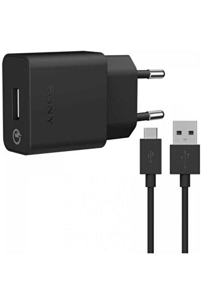 Uch10 2.0a Hızlı Şarj Cihazı + Micro Usb Kablo - Siyah (Ithalatçı Garantili)