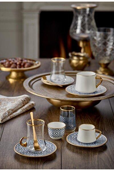 Antrasit Sufi Türk Kahvesi Fincanı 6 Lı Ikat