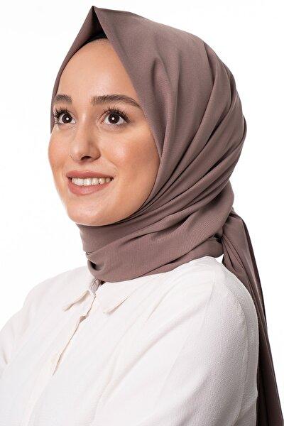 Kadın Çikolata Trend Medine Ipeği Şal