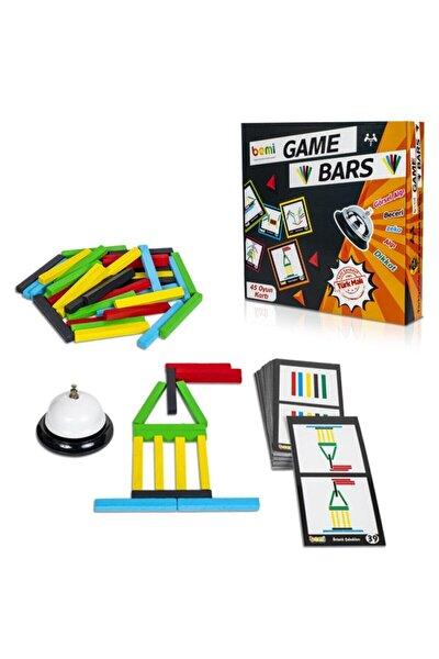 Game Bars - Mantık Eğitici Zeka Strateji Çocuk Ve Aile Oyunu - Lüks Doğal Ahşap Kutu Oyunu