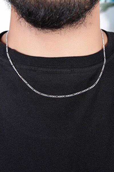 Figaro 925 Ayar Gümüş Zincir-50 Cm Dbse2022