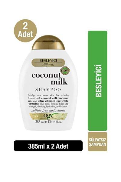 Coconut Milk Sülfatsız Şampuan 385 Ml X2