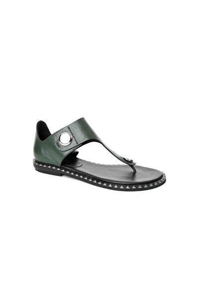 Kadın Yeşil Sandalet 1JHMW2019039