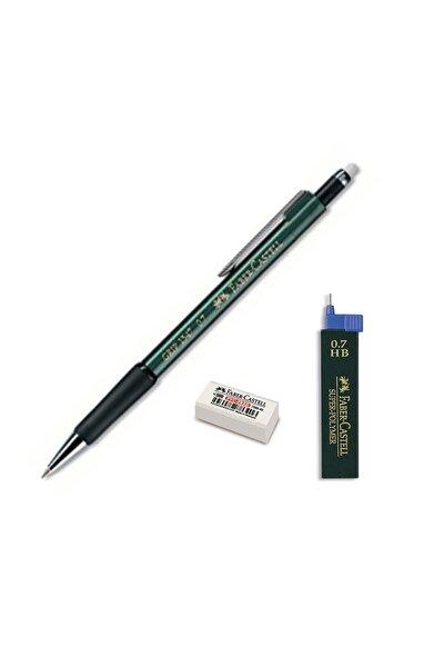 Faber Grip Iı 1347 0.7 Uçlu Kalem Seti Yeşil (5091207100)