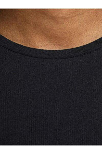 JJECURVED TEE SS O-NECK N Beyaz Erkek T-Shirt 101069473