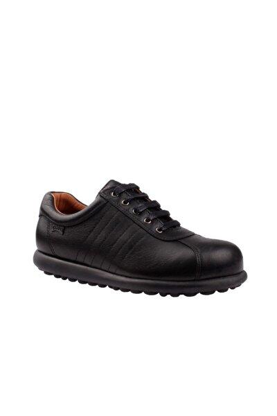 Kadın Siyah Hakiki Deri Pelotas Ariel Sneaker 27205-233