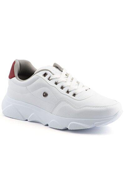 Erkek Beyaz Taban Spor Ayakkabı 019
