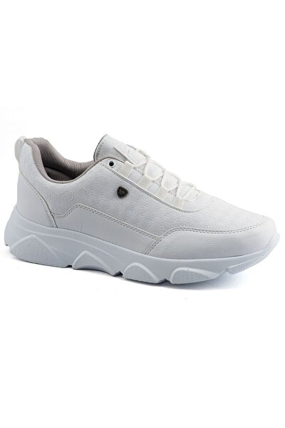 005 Beyaz Beyaz Erkek Spor Ayakkabı