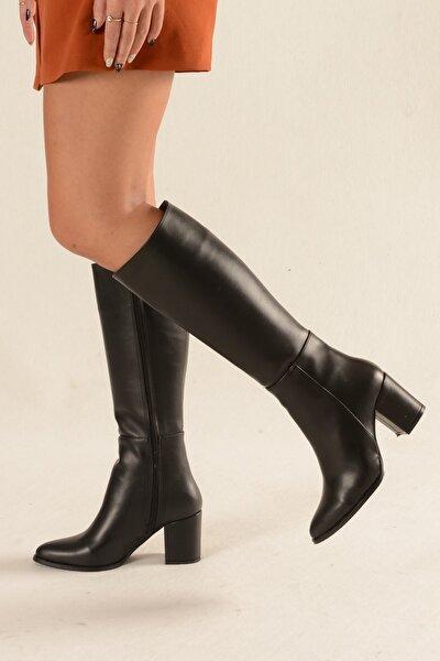 Siyah Cilt Çizme - Morin