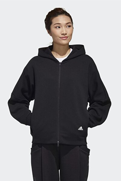Kadın Günlük Sweatshirt W Mhs Word Hd Gf6977