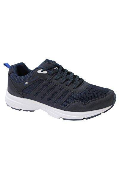 Erkek Bağcıklı Lacivert Koşu Ayakkabı 201-6803mr 300
