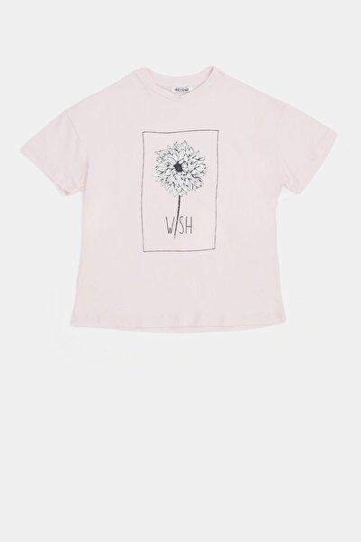Kız Çocuk Pembe T-shirt