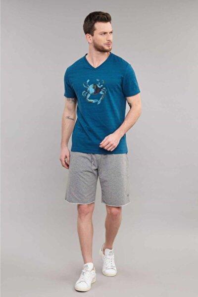 4008 Erkek Örme Tshirt Tb18mf07s4008-1