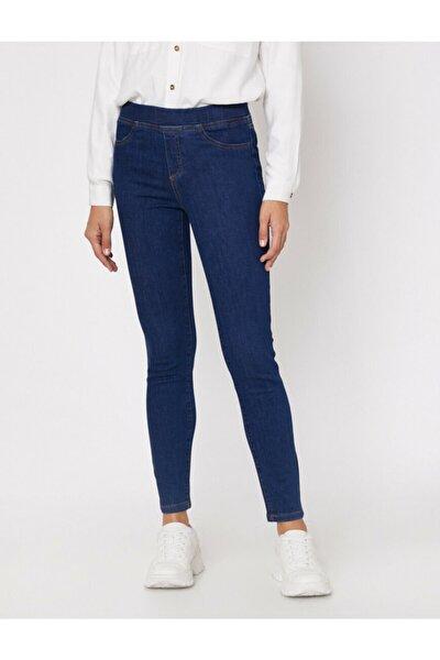 Kadın Koyu Indigo Jeans 0KAL41272MD
