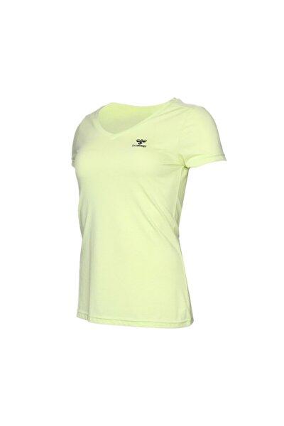 HMLVLORA  T-SHIRT S/S Sarı Kadın T-Shirt 100580760