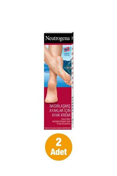 Norveç Formülü Nasırlaşmış Ayaklar İçin Ayak Kremi 50 ml x2