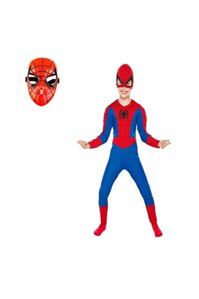 Kostümü Örümcek Adam Kostüm 2 Maskeli