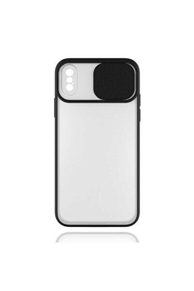 Apple Iphone Xs Max Kılıf Slayt Sürgülü Kamera Korumalı Renkli Silikon