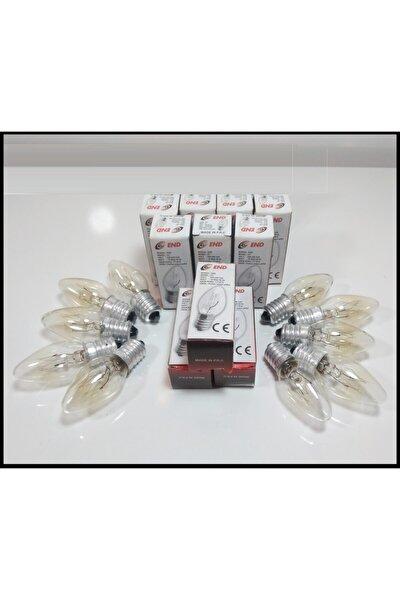 Tuz Lambası Ampulü 10w E14 Duy  Paket Parfüm Ampul End Marka 10 Lu