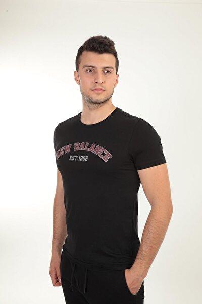 Logo Tee Siyah Erkek Tişört - Mpt026-bk