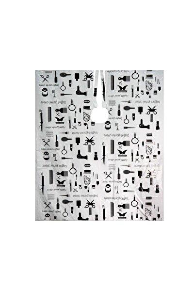 Tek Kullanımlık Berber Ve Kuaför Kesim Önlüğü-penuar 100 Adet 100x140 Cm Desenli