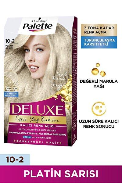 Deluxe 10-2 Platin Sarısı Saç Boyası