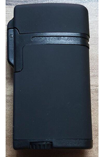 Siyah Tek Pürmüz Alev Mat Renk Çakmak 32-5a