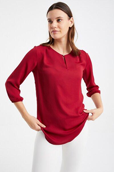 Yaka Detay Bluz
