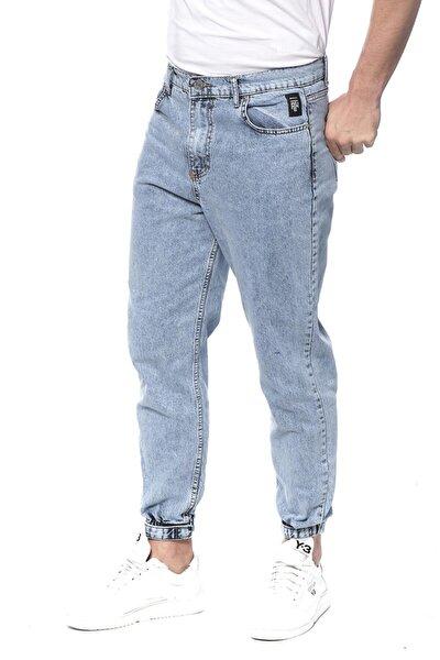 Likralı Paçası Lastikli Erkek Kot Pantolon