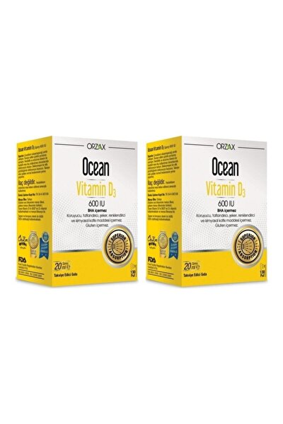 Vitamin D3 600 Iu Sprey 2 Li Avantaj Paket 20 ml