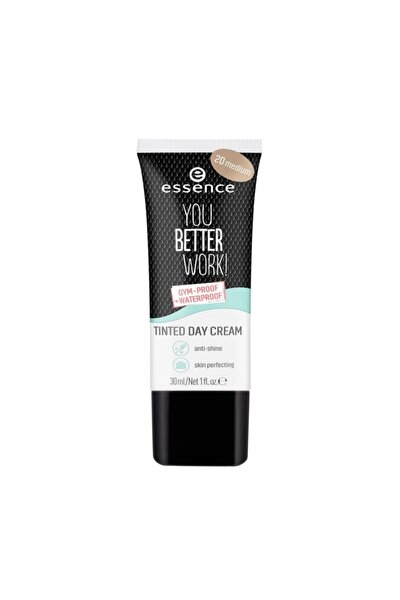 Renkli Nemlendirici - You Better Work Tinted Day Cream  20 Medium 30 ml 4059729197726