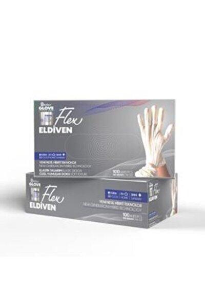 Flex Glove Pudrasız Bej 100 Lü / M Beden