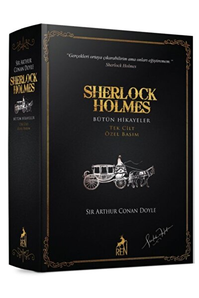 Sherlock Holmes Bütün Hikayeler Tek Cilt Özel Basım
