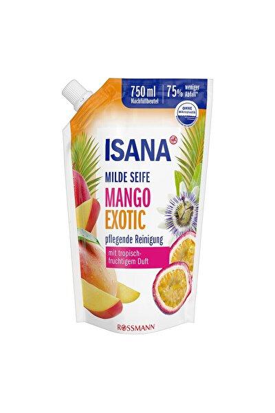 Sıvı Sabun Yedek Paket Mango Exotic Tropik Meyve Kokulu 750 Ml