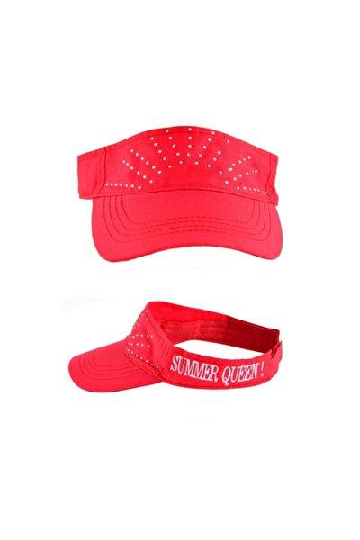Summer Queen Sloganlı Taşlı Şapka
