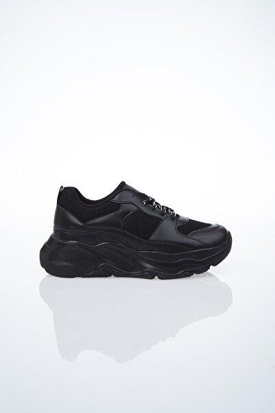 PC-30061 Siyah Kadın Spor Ayakkabı