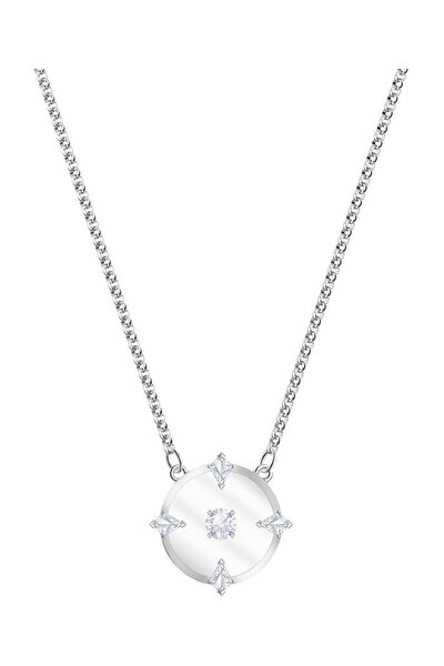 Kolye North:Necklace Glass Czwh/Rhs 5497232