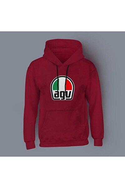 Agv Kırmızı Sweatshirt
