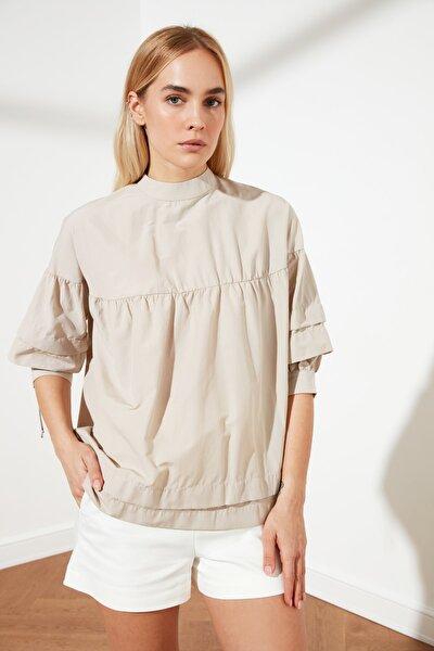 Taş Yaka Detaylı Bluz TWOSS20BZ0544