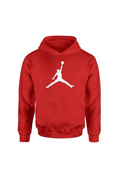 Air Jordan Usual Kırmızı Hoodie