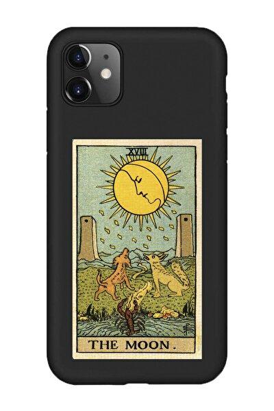 Iphone 11 Lansman The Moon Baskılı Telefon Kılıfı